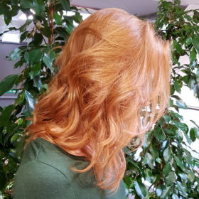 Ammonia free hair colour