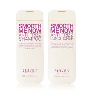 Eleven smooth me now anti-frizz shampoo 300ml conditioner 300ml duo pack