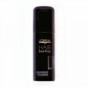 LOREAL professionnel hair touch up black 75ml instant root concealer spray