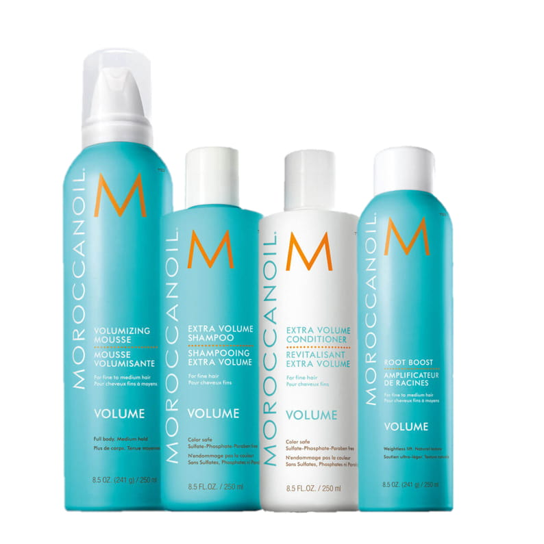 Moroccanoil volume products