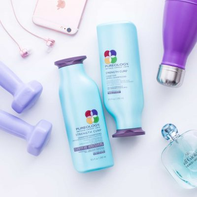 Pureology Strength Cure shampoo conditioner