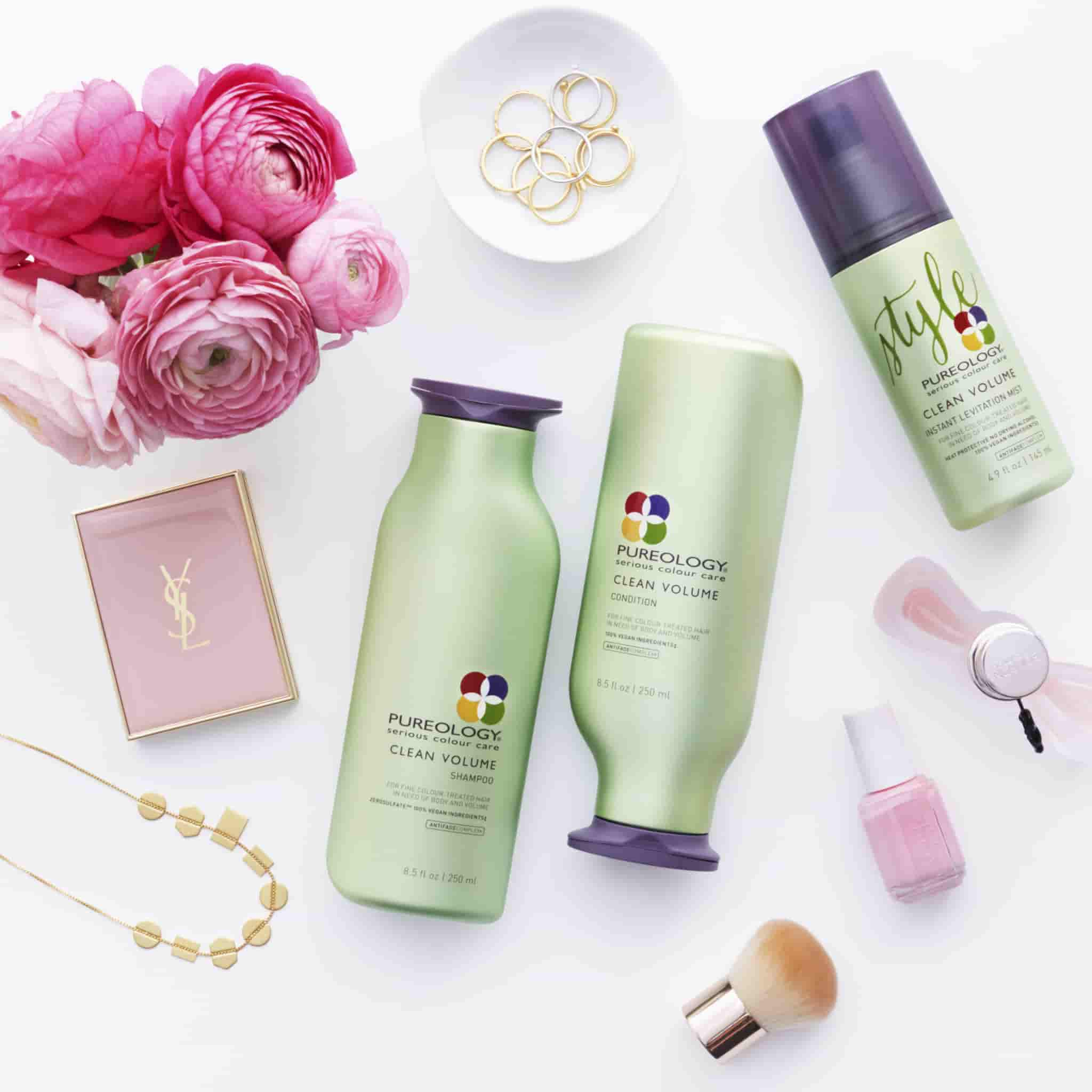 Pureology clean volume shampoo conditioner