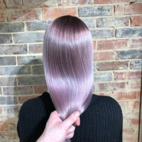 Holographic hair colour by Corey