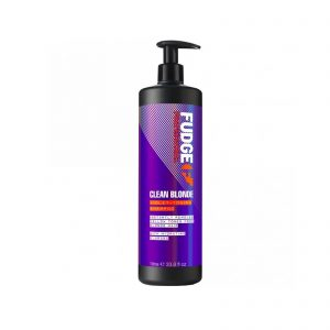 fudge clean blonde violet toning shampoo litre Brighton