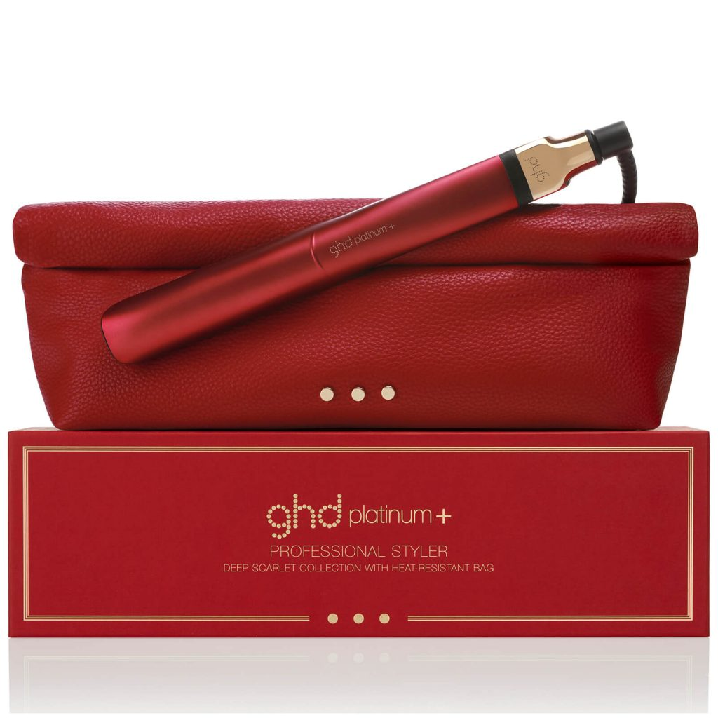 ghd valentines day platinum+ scarlet limited edition