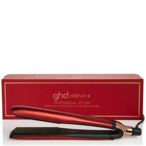 ghd valentines day gift platinum+ scarlet limited edition